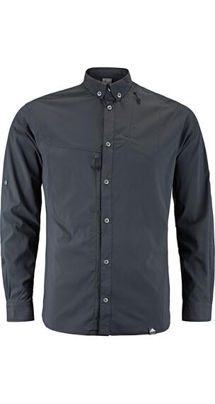 Klättermusen M's Tyr Shirt Dark Grey